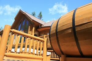 Weekend for rent at St Sauveur chalet for rent cottage for rent
