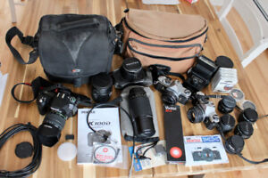 Pentax MX 35mm Bodies, Lenses, K100D and Accessories