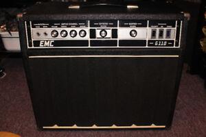 """Ampli vintage retro EMC G110 70s transistors Celestion Rola 12""""?"""