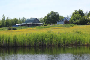 House, barn and 96 acres