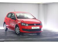 2012 Volkswagen Polo 1.2 S A/C (60 PS) 5-Dr Petrol red Manual