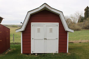 10'x12' barn style garden shed