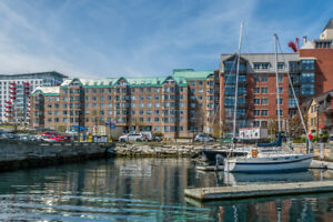 LARGE WATERFRONT  1 BRM CONDO - Downtown Halifax