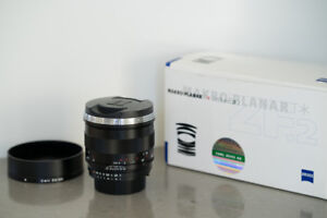 Zeiss 50mm F2 Makro-Planar ZF.2 Lens for Nikon