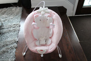 fisherprice deluxe kitty pink bouncy chair