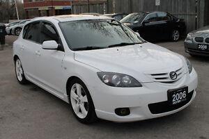 2006 Mazda Mazda3 GT Hatchback *RARE WHITE COLOR - NO ACCIDENTS*