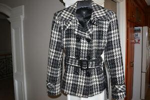 Black and White Jacket Size 13/14