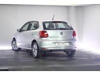 2014 Volkswagen Polo 1.2 TSI SE (90 PS) BMT 5-Dr Petrol silver Manual