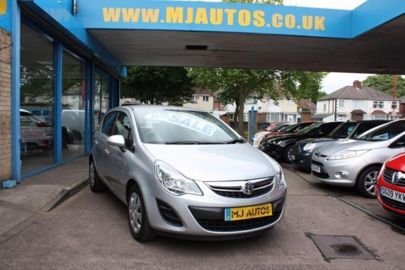 2011 11 VAUXHALL CORSA 1.4 EXCLUSIV AC 5DR SILVER 2 OWNERS WITH FSH LOW MILEAGE