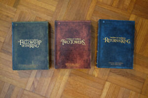 Lord of The Ring Trilogie extended édition boxset