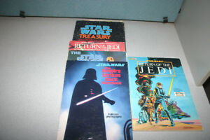Star Wars Books & Books with 33 1/2 RPM Records