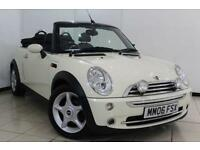 2006 06 MINI CONVERTIBLE 1.6 COOPER 2DR 114 BHP