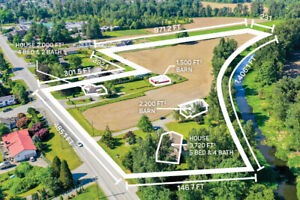 FOR SALE 11.19 Acres Two Houses & Acreage