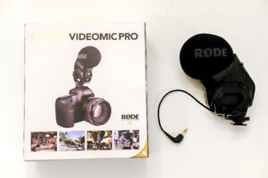 Rode Microphones Stereo Video Mic Pro (like new)