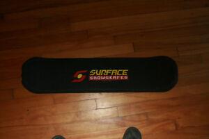 Snowboard, router, chaufrette, télé HD,