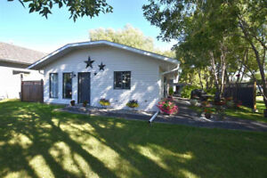 A 1,300 Square foot, 3-bedroom open style Bungalow for rent.