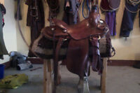 Don Lowen Ranch Saddle - MUST SELL