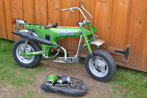 1978 Honda CT70 mini trail 70 bike not running with ownership