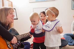 Kindermusik Classes for Babies, Toddlers, Preschoolers
