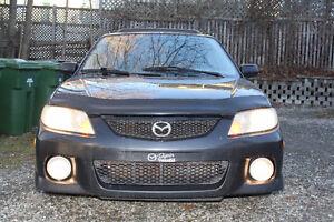 !!! 450$ !!! Mazda Protege 2002 Toute équipée Familiale