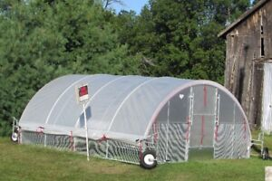 end-closure kit for model 1312 Cackellac Chicken Shelter