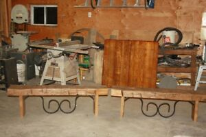 Barn Beam Bench set of two