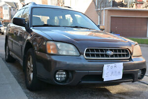 2004 Subaru Outback Wagon Final AS-IS PRICE