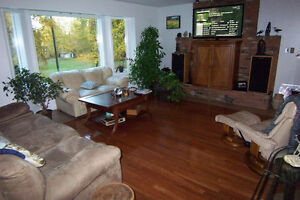 Large home on 7 acres of land, 2 titles, zoning for farm animals Prince George British Columbia image 8