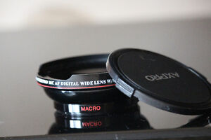 58 MM Wide Angle Lens with Macro