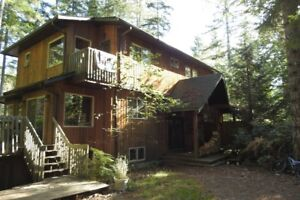 West Coast Rain Forest Furnished Home
