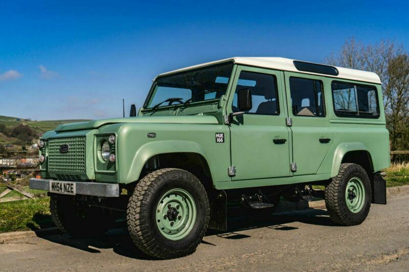 Land Rover Defender 110 Station Wagon 2 5 TD5 Heritage SPEC HUE DEPOSIT  TAKEN | in Bacup, Lancashire | Gumtree