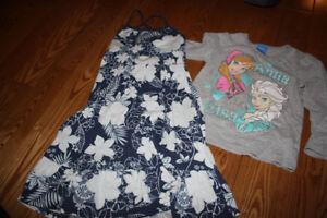 vêtements fillette 3 ans et 4 ans