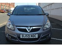 2009(59) Vauxhall Corsa 1.2 L Petrol, AUX In, 2 remote keys, Alloys. 5drs