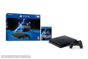 Sony Playstation 4 Slim (1TB) - Battlefront 2 Bundle (BRAND NEW)
