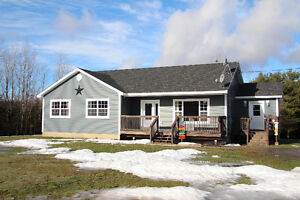 Quality Five Year Old Bungalow on 5.97 Acres - Rural!