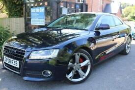 2008 Audi A5 3.0 TDI QUATTRO SPORT HEATED LEATHER SAT NAV BandO FINANCE AVAILABL