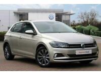 2018 Volkswagen Polo 1.0 TSI 95PS SE Hatchback Petrol Manual