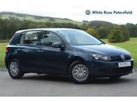 2012 Volkswagen Golf S 1.6 TDI 90PS 5-speed manual 5 Door Diesel blue Manual