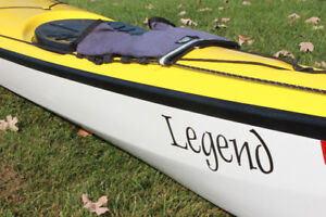 KAYAKS DE MER (LEGEND & BAFFIN) + PAGAIES WERNER À VENDRE