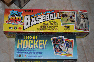 Hockey/Baseball Card Collection