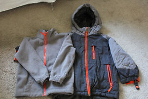 Boys 3 in1 jacket AND snowpants Children's Place Size 4