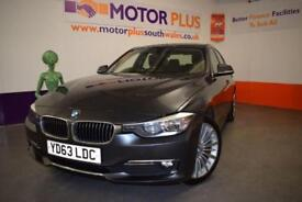 2013 63 BMW 3 SERIES 2.0 320D LUXURY 4D AUTO 184 BHP DIESEL