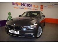 2013 63 BMW 3 SERIES 2.0 320D LUXURY 4D AUTO 184 BHP DIESEL