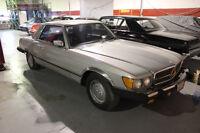 1978 mercedes benz 450slc