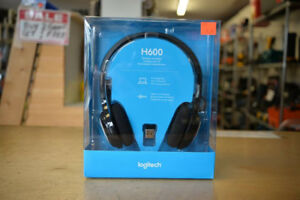Logitech H600 Wireless Headset -SEALED IN BOX