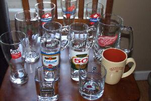 Bar Glasses / Mugs $5.00 Each Or $40.00 For All