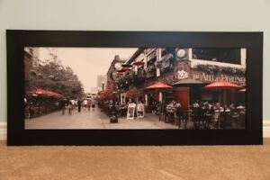 "41"" x 17"" Framed Picture"
