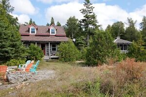 Beautiful Waterfront Log Cottage/Home! -By Darlene James, Broker
