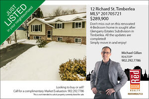 Large family home in Timberlea and move-in ready!
