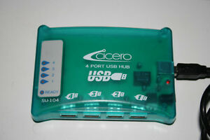 CICERO 4 PORT USB HUB